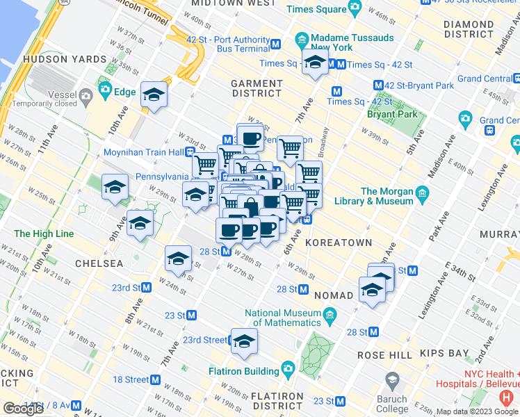 Car Stores Near Me >> 371 7th Avenue, New York NY - Walk Score