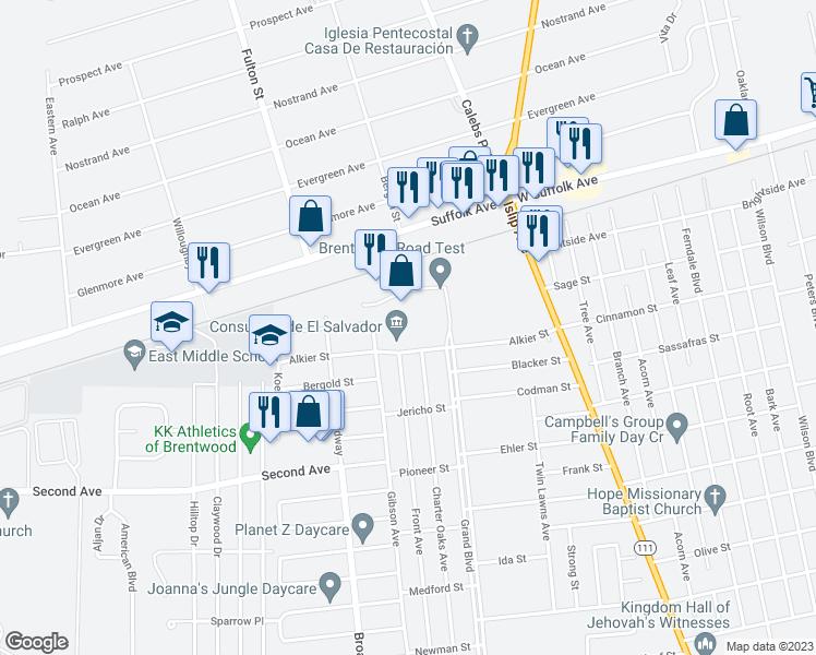 155 Alkier Street, Brentwood NY - Walk Score