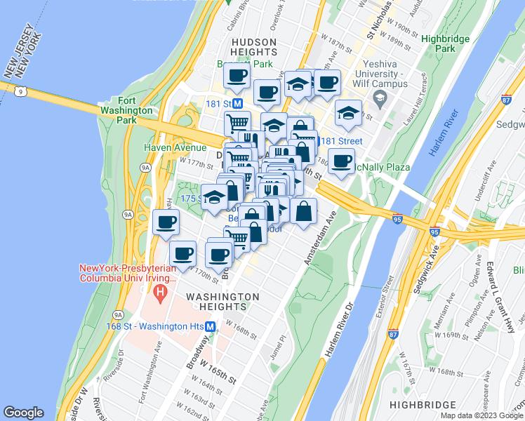 609 West 175th Street, New York NY - Walk Score