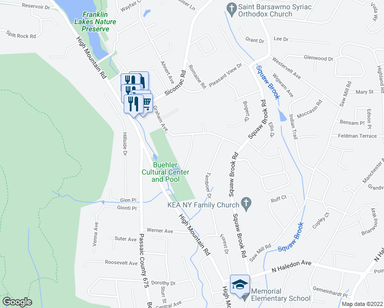 35 crestview terrace north haledon nj walk score for Terrace view map