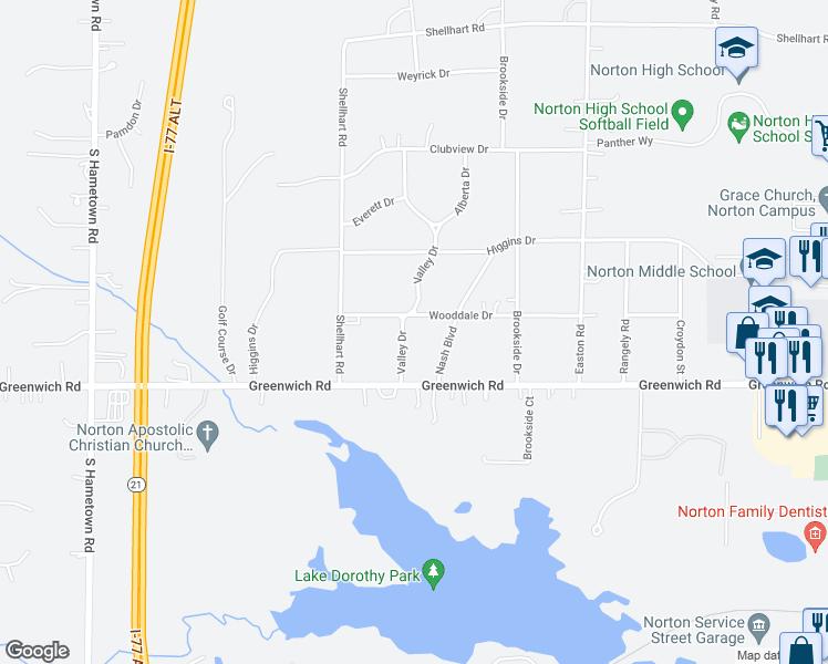 3905 Valley Drive, Norton OH - Walk Score