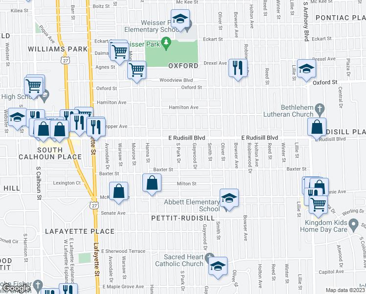 3917 South Park Drive, Fort Wayne IN - Walk Score