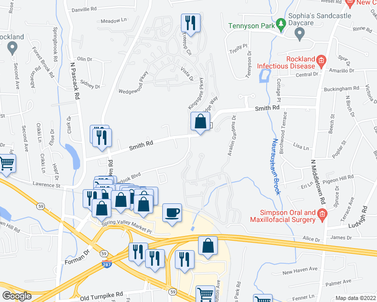 avalon gardens nanuet. map of restaurants, bars, coffee shops, grocery stores, and more near 650 avalon gardens nanuet