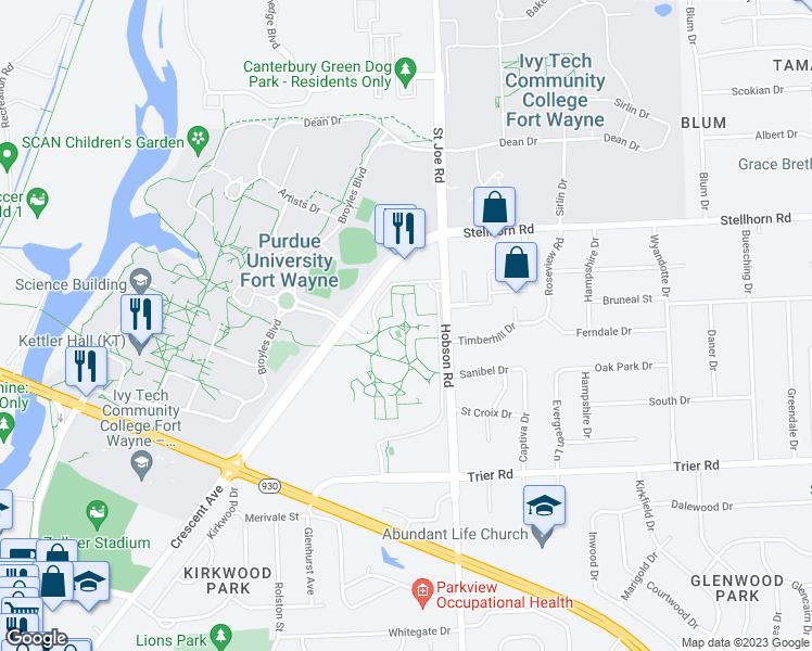 Map Of Restaurants Bars Coffee S Grocery Ore Near 4010