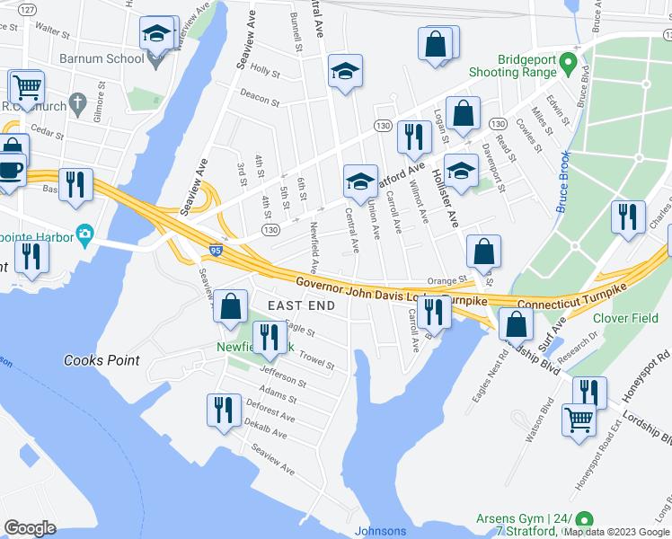 199 Newfield Place Bridgeport CT  Walk Score