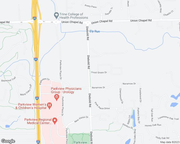 11828 Diebold Road, Fort Wayne IN - Walk Score
