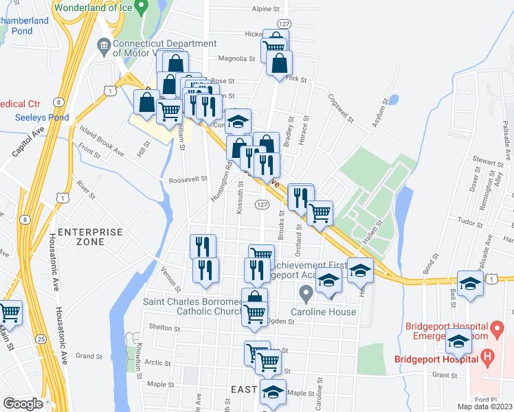54 Autumn Street Bridgeport CT  Walk Score