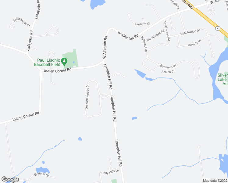 map of restaurants, bars, coffee shops, grocery stores, and more near 110 Congdon Hill Road in North Kingstown