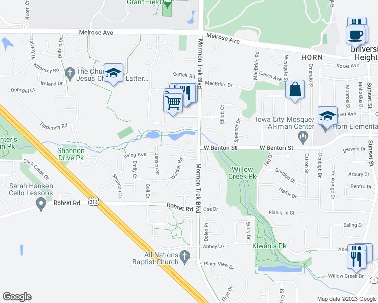 2401 Shady Glen Circle Iowa City Ia Walk Score: Iowa City Map Google At Slyspyder.com
