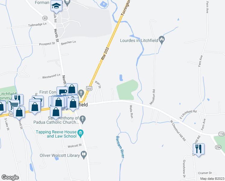 24 Holly House Court, Litchfield CT - Walk Score