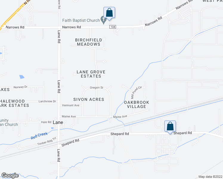 Perry Maine Map.4334 Utah Court Perry Oh Walk Score