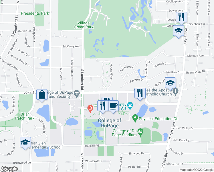 Restaurants Near Village Green In Glen Ellyn