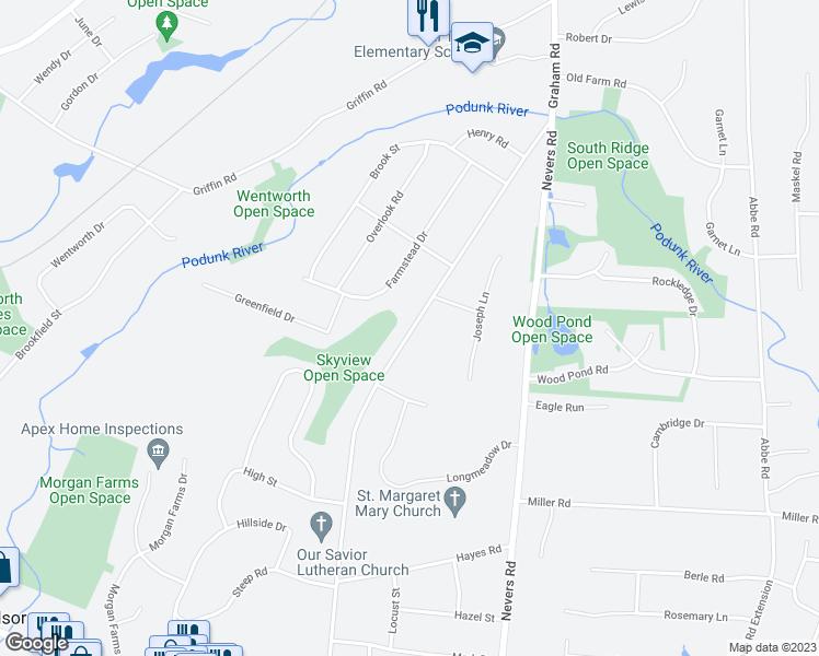 435 Graham Road South Windsor Ct Walk Score