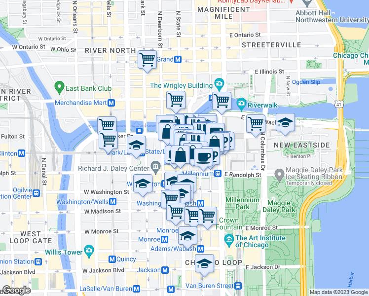 Restaurants Near  N State St Chicago