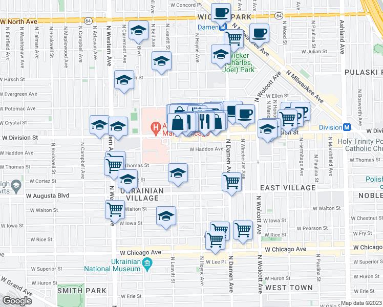 2115 West Haddon Avenue Chicago IL  Walk Score