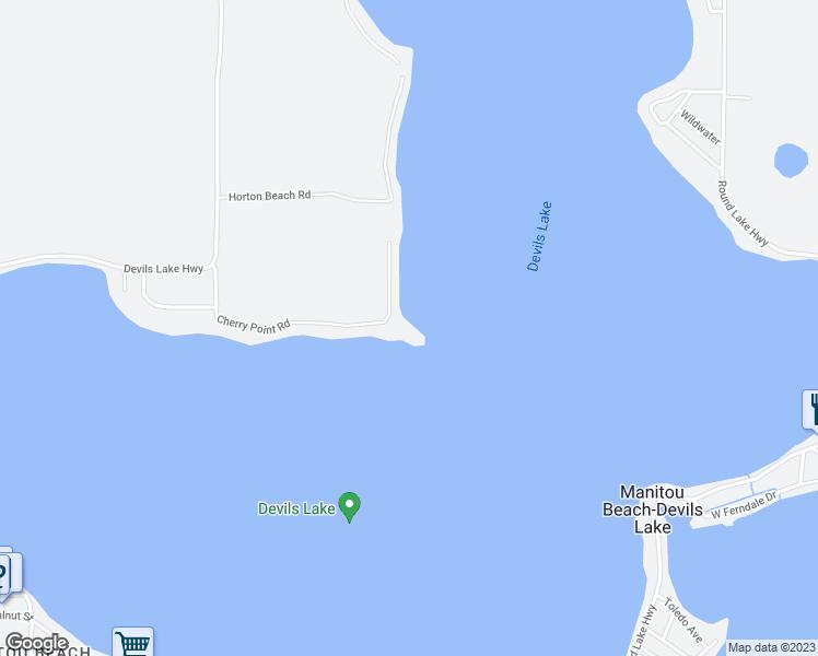 8670 Cherry Point Road Manitou Beach Devils Lake Mi Walk Score