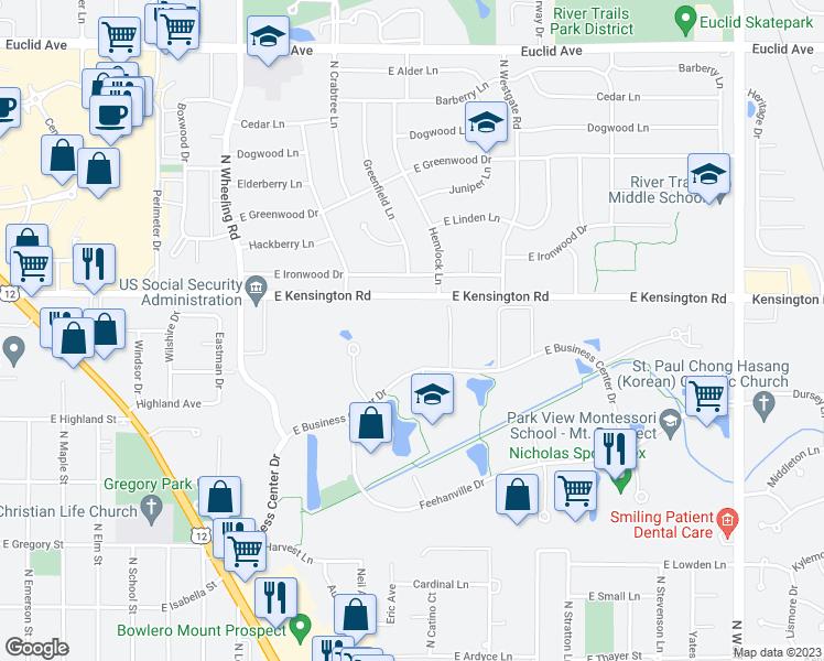 1000 East Business Center Drive, Mount Prospect IL - Walk Score