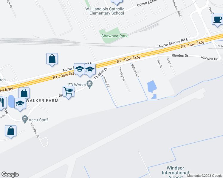 3420 Pillette Road, Windsor ON - Walk Score