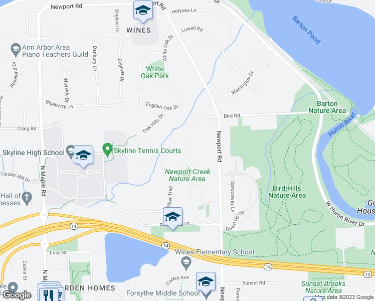 Huron River Apartments Newport Mi