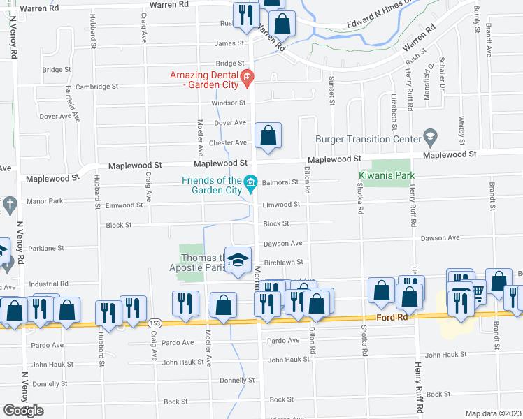 31335 Elmwood Street Garden City Mi Walk Score