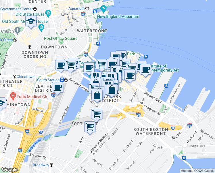 Restaurants Near  Congress Street Boston