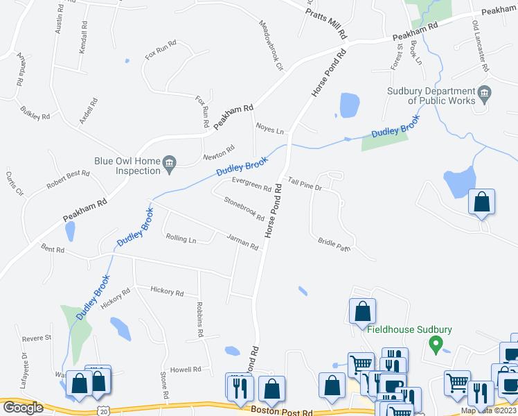 14 Stonebrook Road Sudbury Ma Walk Score