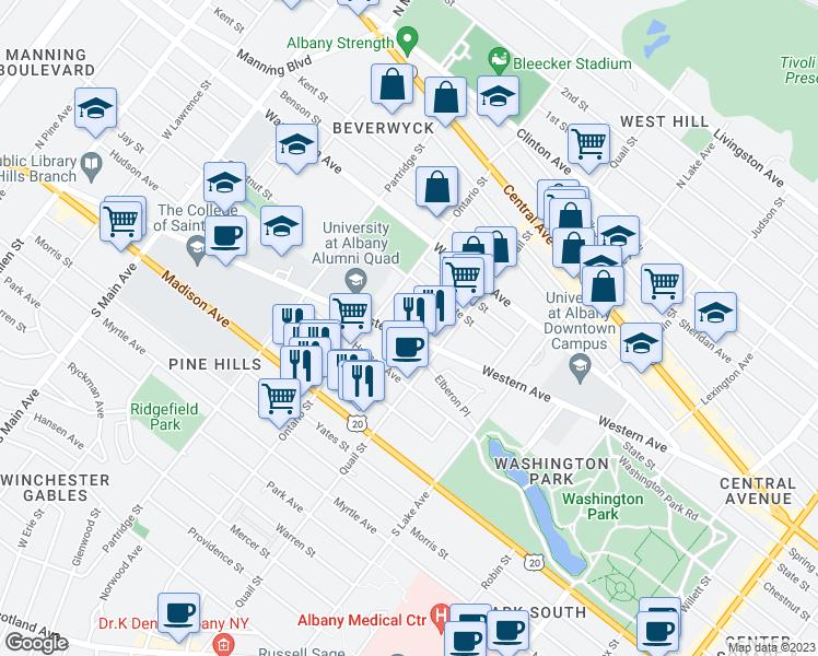 247 Western Avenue, Albany NY - Walk Score