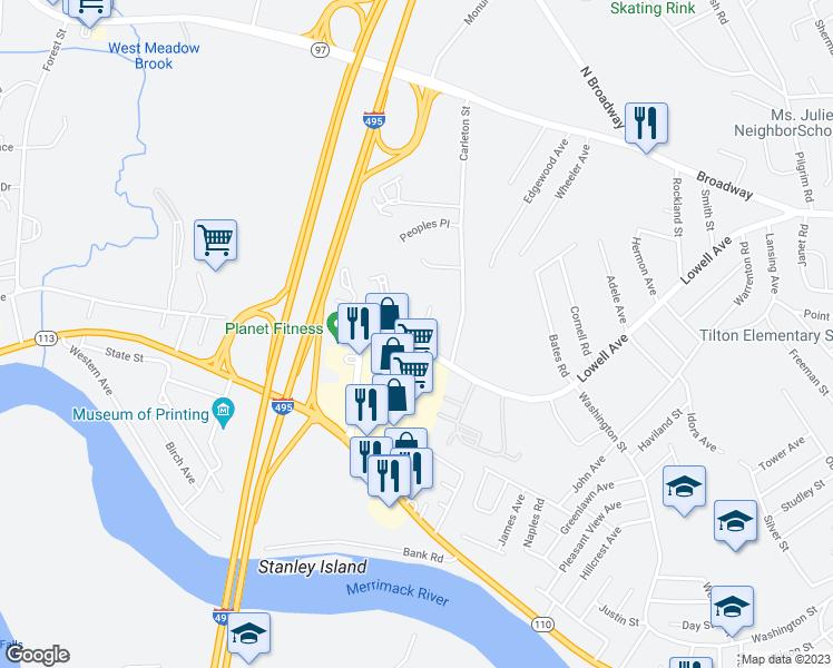 Map Haverhill Car Parks