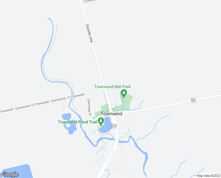map of restaurants, bars, coffee shops, grocery stores, and more near 10 Forest Park Drive in Townsend