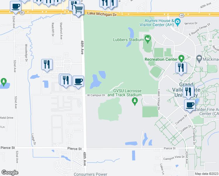 4645 West Campus Drive Allendale Mi Walk Score