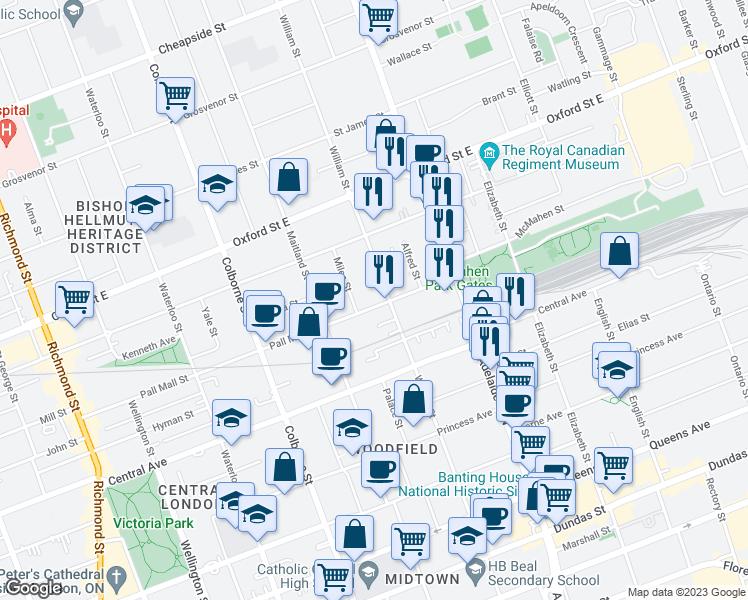 The Mall London Map.528 Pall Mall Street London On Walk Score