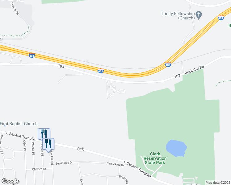 6120 Rock Cut Road, Jamesville NY - Walk Score