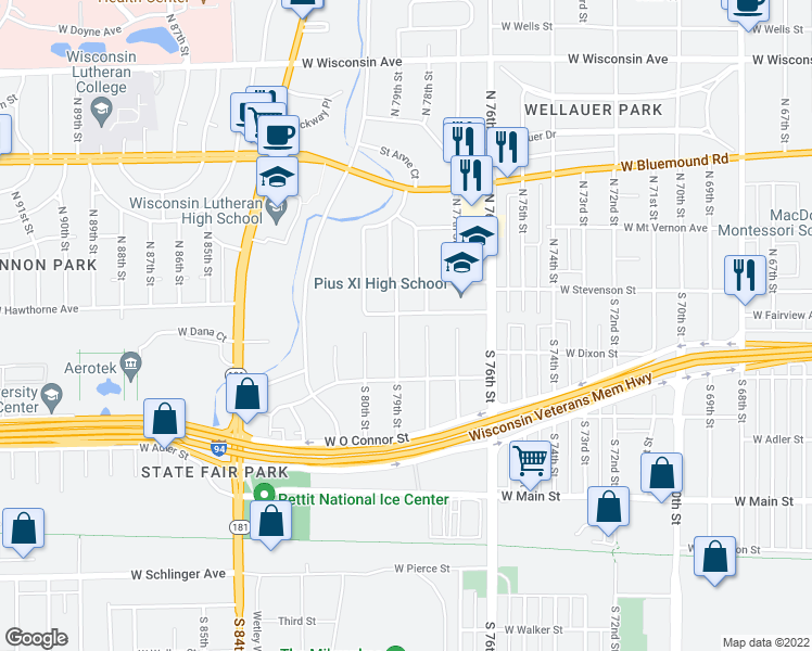 Restaurants Near  S Th Street Milwaukee Wi