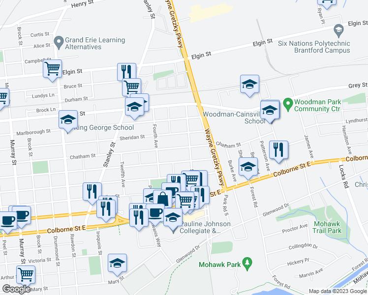 Brantford Map