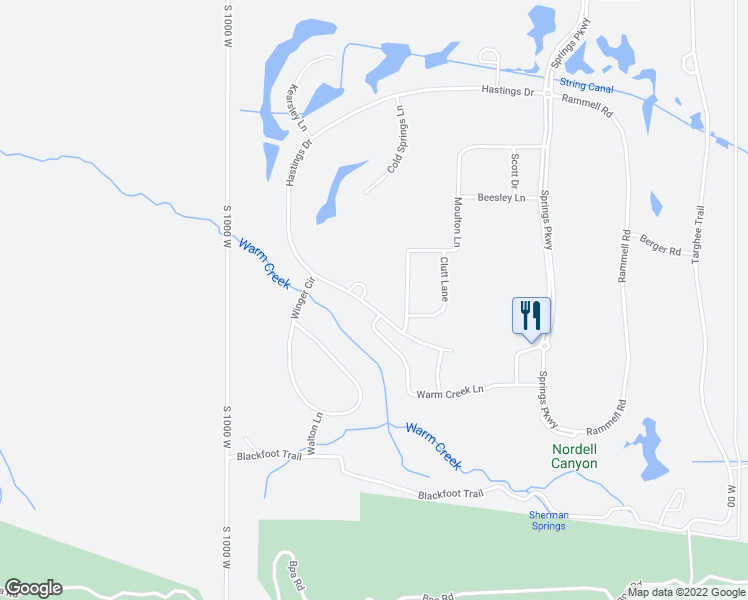map of restaurants, bars, coffee shops, grocery stores, and more near 95 Flint Ridge Circle in Victor
