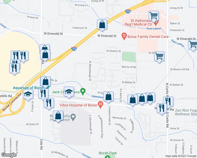 244 North Allumbaugh Street, Boise City ID - Walk Score