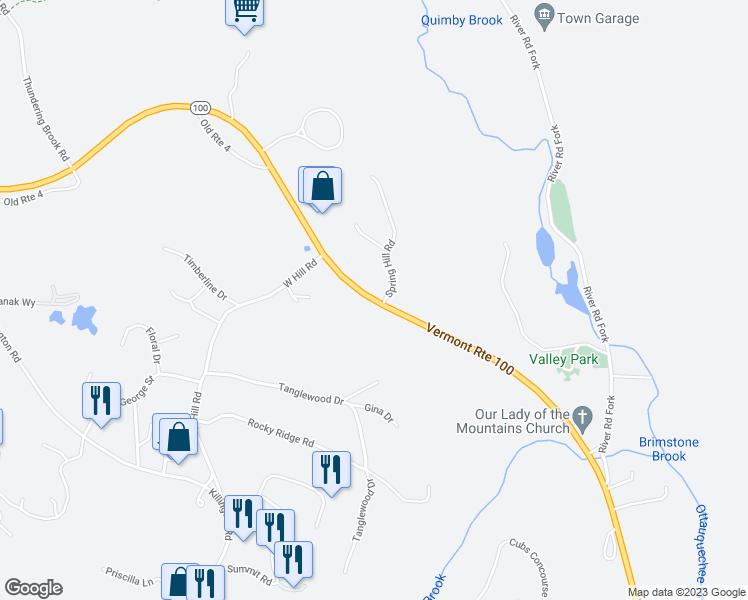 Vermont 100, Killington VT - Walk Score on burlington vt map, glastenbury vt map, jacksonville vt map, danby vt map, west dover vt map, sutton vt map, north ferrisburgh vt map, saxtons river vt map, green mountains vt map, rutland vermont map, averill vt map, hiking long trail vt map, berkshire vt map, vermont airports map, pownal vt map, castleton vt map, post mills vt map, manchester vt map, mount mansfield vt map, holland vt map,