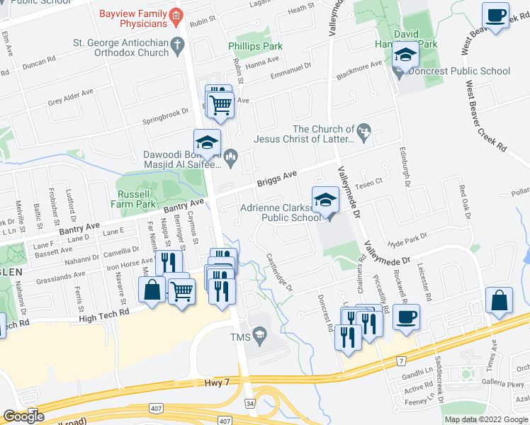 23 Queens College Drive, Richmond Hill ON - Walk Score on