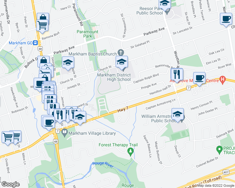 how to get to hilmer st from pringle avenue