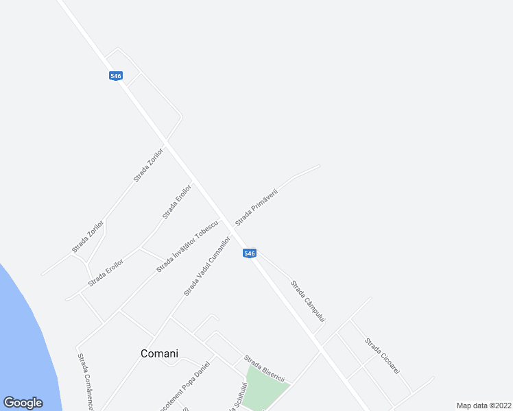 map of restaurants, bars, coffee shops, grocery stores, and more near 13 Strada Primăverii in Comani
