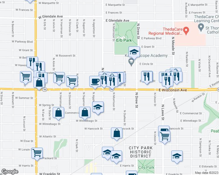 120 East Wisconsin Avenue Appleton Wi Walk Score