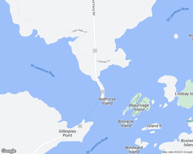 Howe Indiana Map.333 Howe Island Ferry Road Gananoque On Walk Score