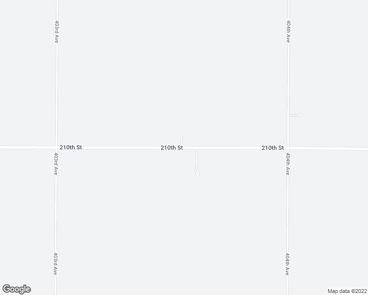 map of restaurants, bars, coffee shops, grocery stores, and more near 40346 210th Street in Huron
