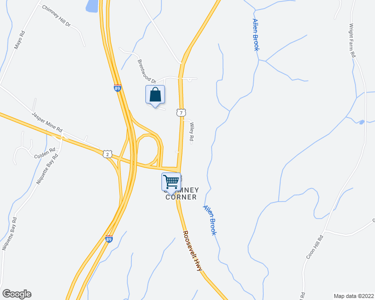 map of restaurants, bars, coffee shops, grocery stores, and more near 160 Wiley Road in Colchester