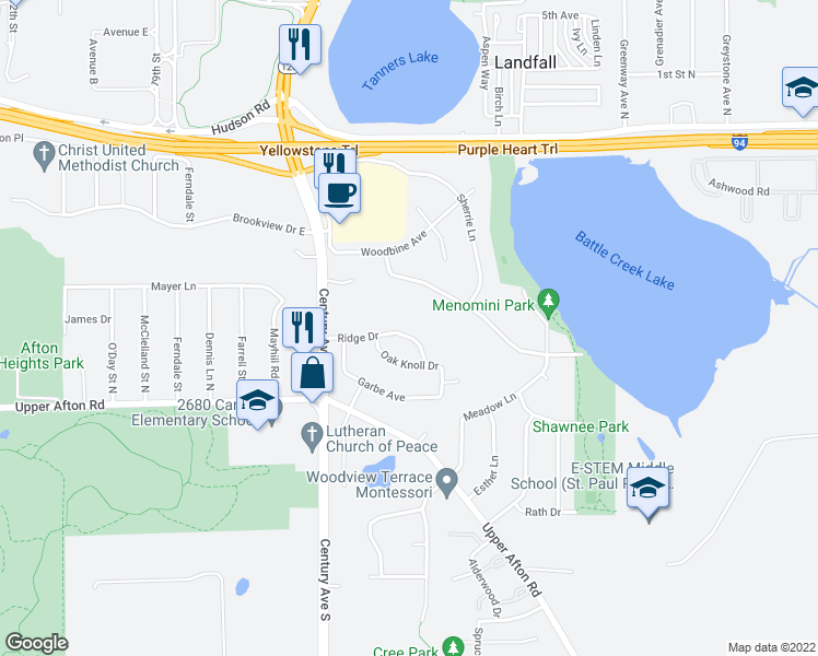 Restaurants Near Woodbury Drive