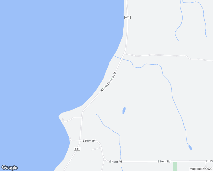 map of restaurants, bars, coffee shops, grocery stores, and more near North Lake Leelanau Drive in Leelanau County