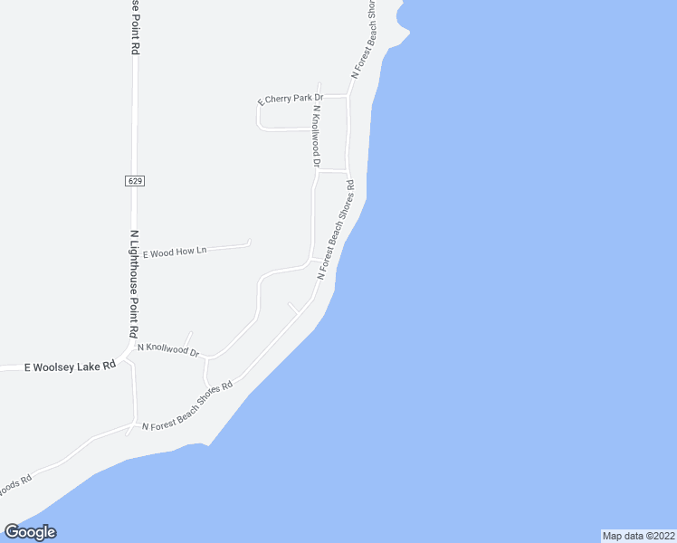 map of restaurants, bars, coffee shops, grocery stores, and more near 13212 North Forest Beach Shores Road in Northport