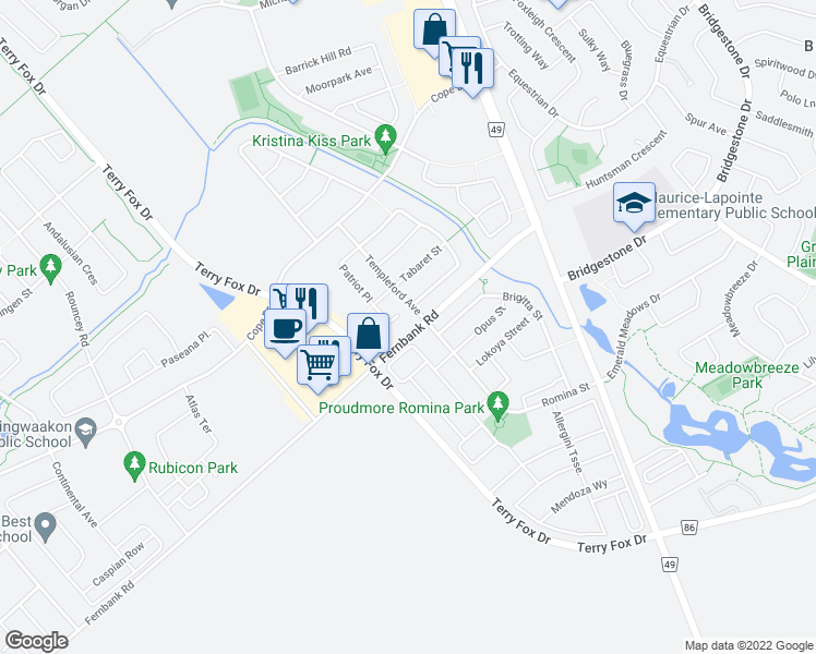 202 Patriot Place, Ottawa ON - Walk Score