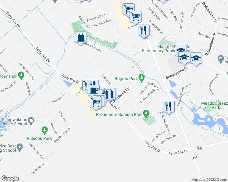 189 Patriot Place, Ottawa ON - Walk Score