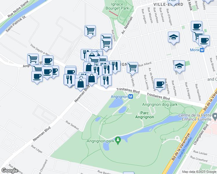1601 Boulevard Angrignon Montreal Qc Walk Score